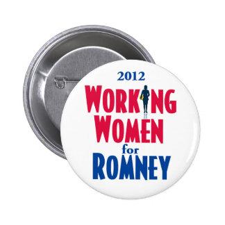 Romney WORKING WOMEN 6 Cm Round Badge