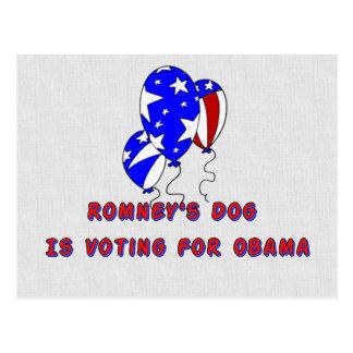 Romney's Dog Postcard