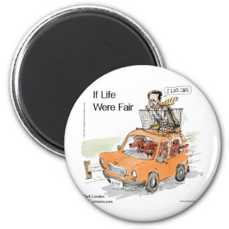 Romney's Irish Setters Funny Gifts Tees Cards Etc 6 Cm Round Magnet