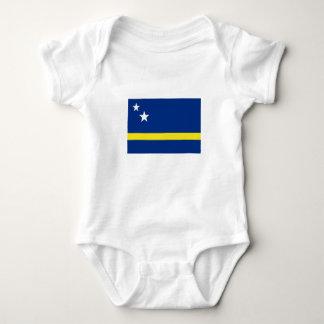 Romper Curaçaose flag. Baby Bodysuit
