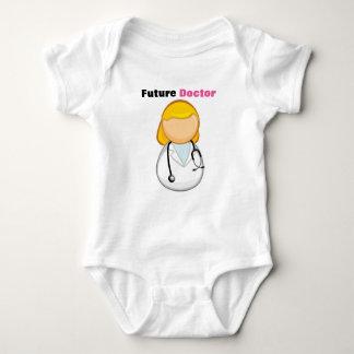 Romper Future doctor. Baby Bodysuit