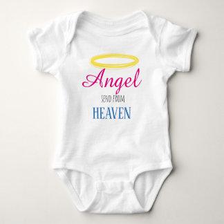 Romper sting send from heaven. baby bodysuit