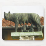 Romulus and Remus - Ancient Rome Mouse Pad