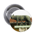 Romulus and Remus - Ancient Rome Pinback Buttons