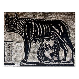 Romulus Remus Postcard