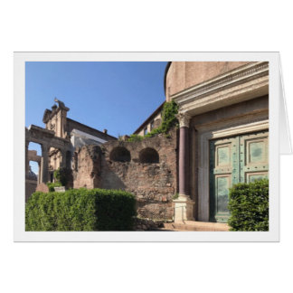 Romulus Temple Greeting Card