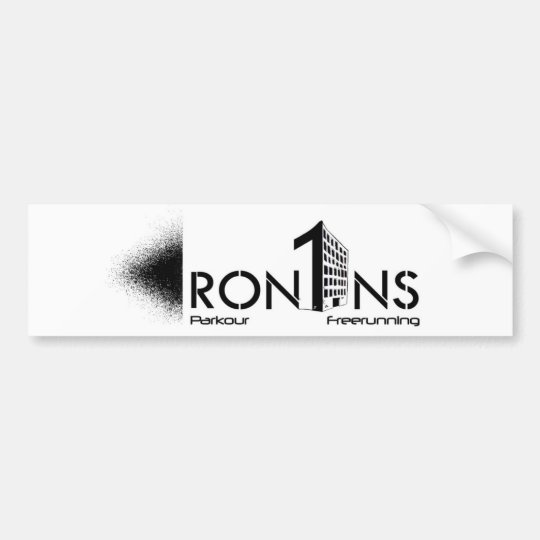 Ron1ns white Sticker