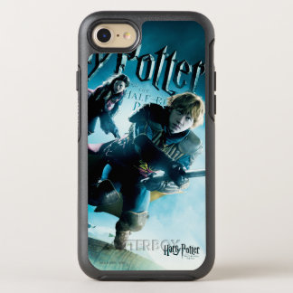 Ron and Ginny On Brooms 1 OtterBox Symmetry iPhone 8/7 Case