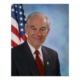 Ron Paul 2007 Congressional Photograph Print