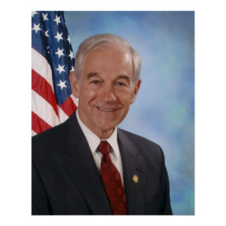 Ron Paul 2007 Congressional Photograph Poster