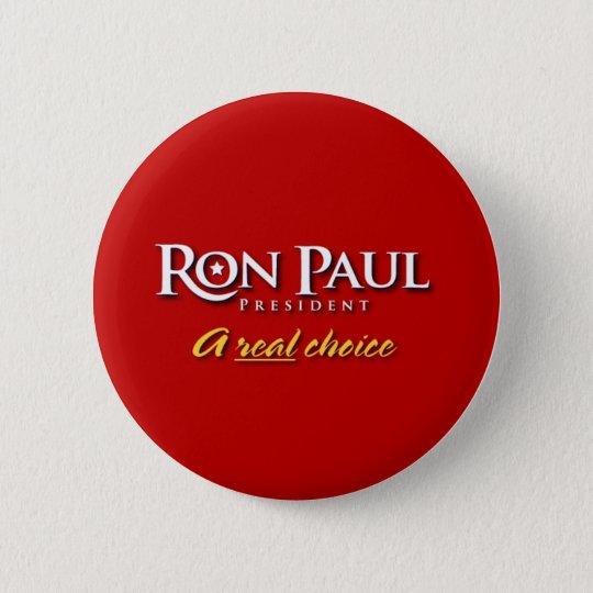 Ron Paul 2008 Campaign Button