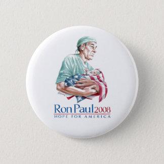 Ron Paul 2008 - Customized 6 Cm Round Badge