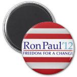 Ron Paul 2012 6 Cm Round Magnet