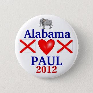 Ron Paul 2012 Alabama 6 Cm Round Badge