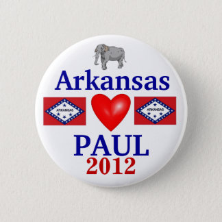 Ron Paul 2012 Arkansas 6 Cm Round Badge