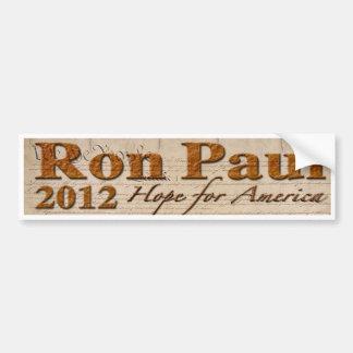 Ron Paul 2012 Bumper Sticker