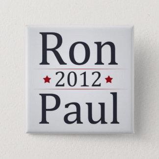 Ron Paul 2012 Campaign 15 Cm Square Badge