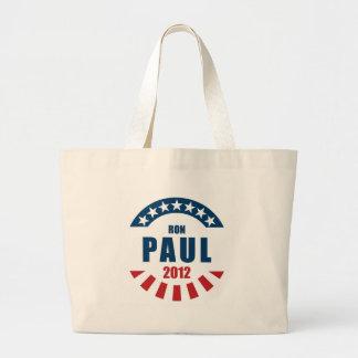 Ron Paul 2012 Canvas Bag