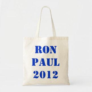 RON PAUL 2012 CANVAS BAGS