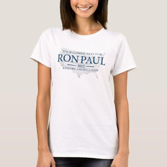 Ron Paul 2012 Customisable Shirt