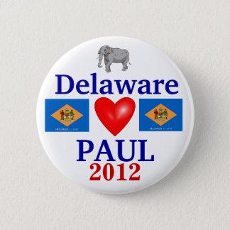 Ron Paul 2012 Delaware 6 Cm Round Badge