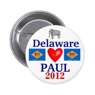 Ron Paul 2012 Delaware Pin