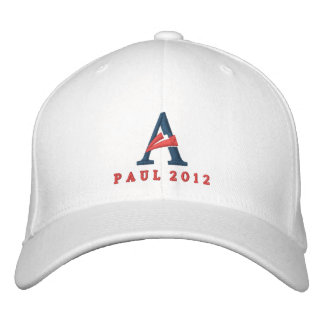 Ron Paul 2012 Embroidered Hat