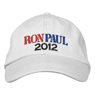 Ron Paul 2012 Embroidered Hats