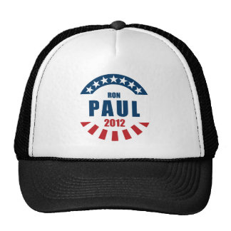 Ron Paul 2012 Mesh Hat