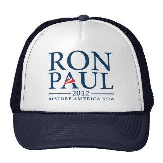 Ron Paul 2012 Hat