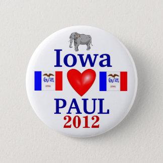 ron paul 2012 Iowa 6 Cm Round Badge