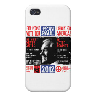 Ron Paul 2012 Cases For iPhone 4
