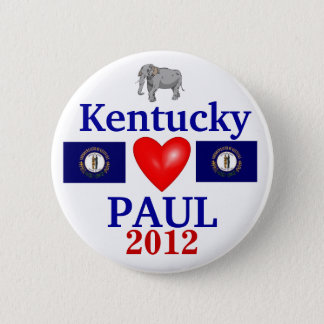 Ron Paul 2012 Kentucky 6 Cm Round Badge
