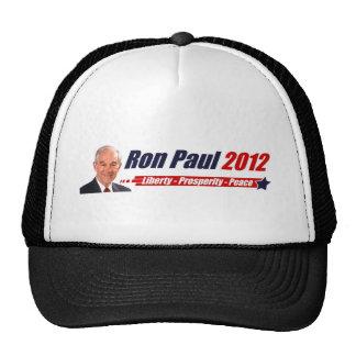 Ron Paul 2012: Liberty, Prosperity, Peace Mesh Hat