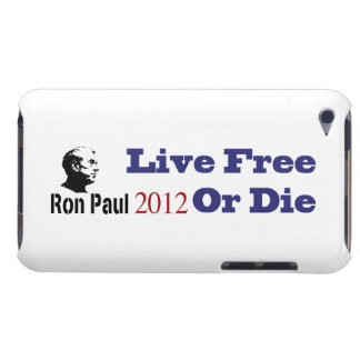 Ron Paul 2012 Live Free Or Die iPod Touch Covers