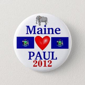 Ron Paul 2012 Maine 6 Cm Round Badge