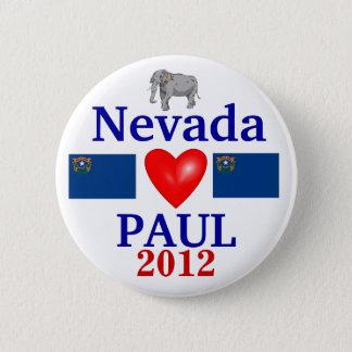 Ron Paul 2012 Nevada 6 Cm Round Badge
