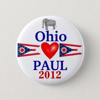 Ron Paul 2012 Ohio 6 Cm Round Badge