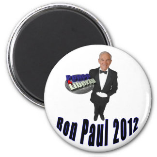 Ron Paul 2012 Peace & Liberty Fridge Magnets