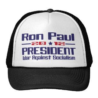 Ron Paul 2012 President.png Trucker Hats