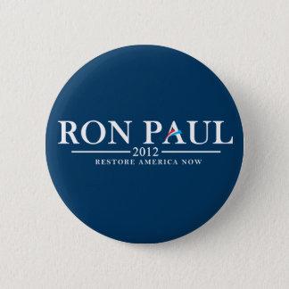 Ron Paul 2012 - Restore America Now 6 Cm Round Badge