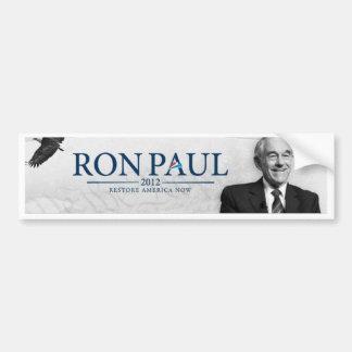 Ron Paul 2012 - Restore America Now - Bumper Stick Bumper Stickers