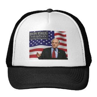 RON PAUL 2012 RESTORE AMERICA NOW MESH HAT