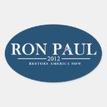 Ron Paul 2012 - Restore America Now Sticker