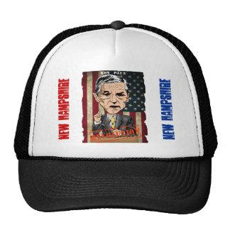 RON PAUL 2012 REVOLUTION NEW HAMPSHIRE TRUCKER HAR CAP