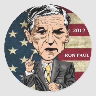 RON PAUL 2012 REVOLUTION STICKERS