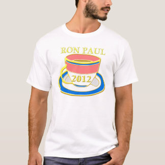 ron paul 2012 tea party T-Shirt