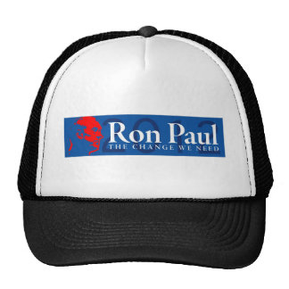 Ron Paul 2012 - The Change We Need Trucker Hat