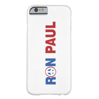 Ron Paul 2012 The Peace Candidate Barely There iPhone 6 Case