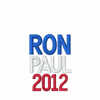 RON PAUL 2012 USA AA FLEECE HOODY - BROWN